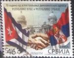 Stamps : Europe : Serbia :  Scott#xxxx , hbr intercambio 1,00 usd. 46 d. 2013