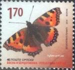 Stamps : Europe : Bosnia_Herzegovina :  Scott#xxxx , m3b intercambio 3,00 usd. 1,70 d. 2014