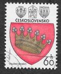 Stamps Czechoslovakia -  2102 - Escudos de Armas de las Ciudades Checoslovacas