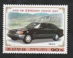Stamps North Korea -  3230 - Automóvil del líder Kim II Sung