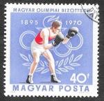 Sellos de Europa - Hungría -  2036 - XXV Aniversario del Comite Olímpico Húngaro
