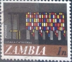Stamps : Africa : Zambia :  Scott#39 , intercambio 0,20 usd. 1 ngwee. 1968