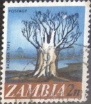 Stamps : Africa : Zambia :  Scott#40 , intercambio 0,20 usd. 2 ngwee. 1968
