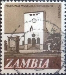 Stamps : Africa : Zambia :  Scott#42 , intercambio 0,20 usd. 5 ngwee. 1968