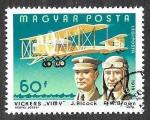 Stamps Hungary -  C401 - LXXV Aniversario del Primer Vuelo de los Hermanos Wright