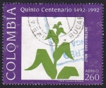 Stamps : America : Colombia :  Maiz