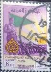 Stamps : Asia : Iraq :  Scott#268 , crf intercambio 0,20 usd. 6 fils. 1961