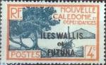 Sellos del Mundo : Oceania : Wallis_y_Futuna : Scott#46 , intercambio 0,25 usd. 4 cents. 1930