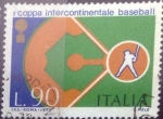 sello : Europa : Italia : Scott#1111 , intercambio 0,20 usd. 90 liras. 1973