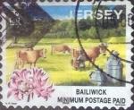 Stamps : Europe : Jersey :  Scott#857 , intercambio 0,80 usd. Minimum. 2000