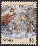 Sellos de Europa - Serbia -  pintura cúpula