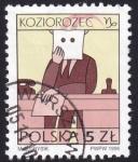Stamps Poland -  Koziorozec