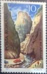Stamps : Europe : Romania :  Scott#2235 , intercambio 0,20 usd. 10 bani. 1971