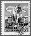 Stamps : Europe : Austria :  Salzburgo