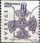 Stamps Sweden -  Scott#2434 , intercambio 1,10 usd. Brev. 2002