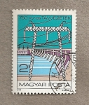 Stamps Hungary -  Centrales eléctricas