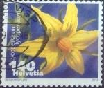 Sellos de Europa - Suiza -  Scott#1440 , intercambio 0,65 usd. 140 cents. 2012
