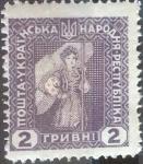 Stamps : Europe : Ukraine :  Scott#2hr , intercambio 0,20 usd. 2 hr. 1920