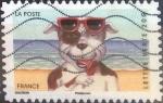 Stamps France -  Scott#xxxx , intercambio 0,50 usd. L.verte 20 gr. 2014