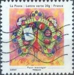 Sellos de Europa - Francia -  Scott#xxxx , intercambio 0,50 usd. L.verte 20 gr. 2013