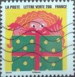 Stamps France -  Scott#xxxx , intercambio 0,50 usd. L.verte 20 gr. 2015