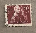 Stamps Hungary -  Lajos Kossuth