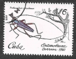 Stamps : America : Cuba :  2301 - Insecto