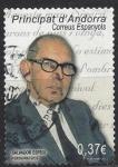 Stamps : Europe : Andorra :  Salvador Espriu