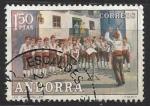 Stamps : Europe : Andorra :  Caramellas