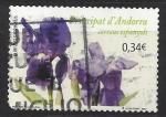 Stamps : Europe : Andorra :  Lirio