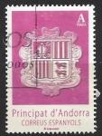 Stamps : Europe : Andorra :  Escudo Andorra I