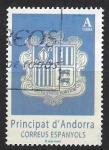 de Europa - Andorra -  Escudo Andorra II