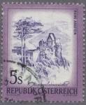 Sellos del Mundo : Europa : Austria : Ruinas de Aggstein