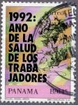 Sellos de America - Panamá -  Año de la Salud de los Trabajadores