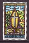 Sellos del Mundo : Oceania : Australia : Cent. 1ª iglesia