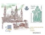 Stamps : Europe : Spain :  4422_HB Expo Zaragoza 2008