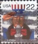 de America - Estados Unidos -  Scott#3259 , intercambio 0,20 usd. 22 cents. 1998