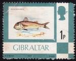 Stamps Gibraltar -  Salmonete de Roca