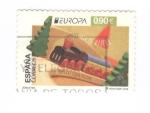Sellos del Mundo : Europa : España : Juguetes. Tren de madera