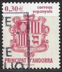 Stamps : Europe : Andorra :  Escudo Andorra III