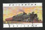 Sellos de Asia - Tailandia -  1728 - Centº de los ferrocarriles tailandeses, Locomotora