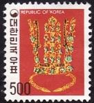 Stamps Asia - South Korea -  Arte Coreano