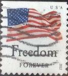 Stamps United States -  Scott#4645 , intercambio 0,25 usd. Forever. 2012