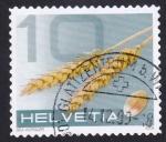 Sellos de Europa - Suiza -  cereales 10