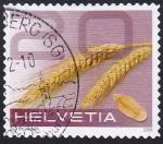 Sellos de Europa - Suiza -  cereales 20