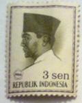 Sellos del Mundo : Asia : Indonesia : achmed sukarno conefo