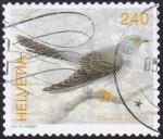 Stamps Switzerland -  cuculus canorus