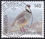 Stamps : Europe : Switzerland :  alectoris graeca