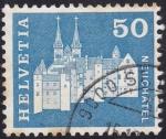 Sellos de Europa - Suiza -  monasterio Neuchatel