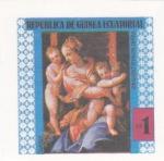 Stamps : Africa : Equatorial_Guinea :  PINTURAS FAMOSAS